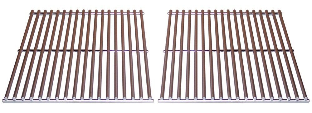 Porcelain Coated Stainless Steel Wire Cooking Grid Set for Centro, Fire Magic, and Charmglow Grills