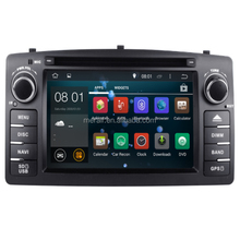 RK Android 8.1 HD Multimedia Player Mobil Radio Mobil untuk Toyota Corolla 2004-2007 2 DIN GPS Mobil <span class=keywords><strong>Dvd</strong></span> 2G Ram