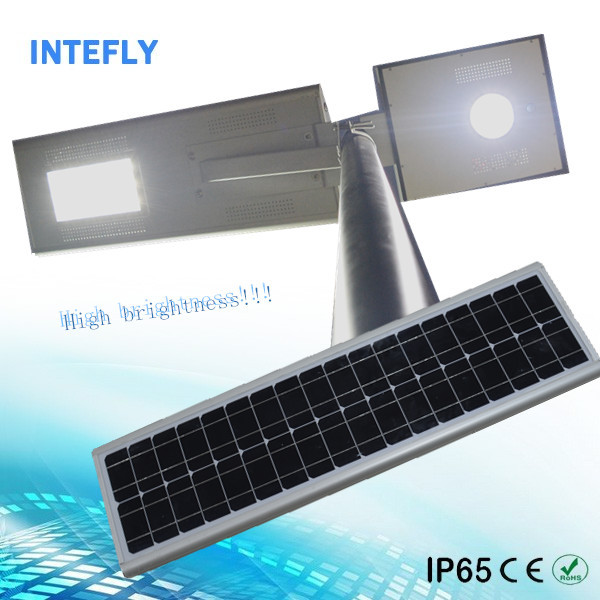 Intefly public led street light 30w smart key system with engine push button start