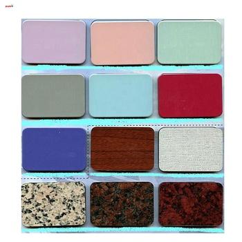 Free Sample Aluminum Composite Panel Acp Color Chart - Buy