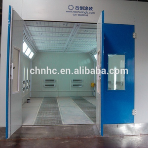 Water based paint booth/industrial paint room for sale/car painting house for furniture