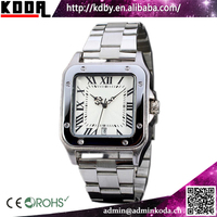 Luxury Men's Square Chinese Cheap Waterproof Automatic Watch