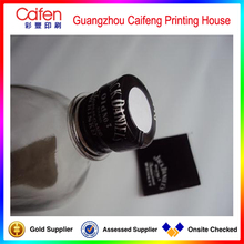 Guangzhou Caifeng printing original diverse pvc shrink sleeve label for glass bottle cap