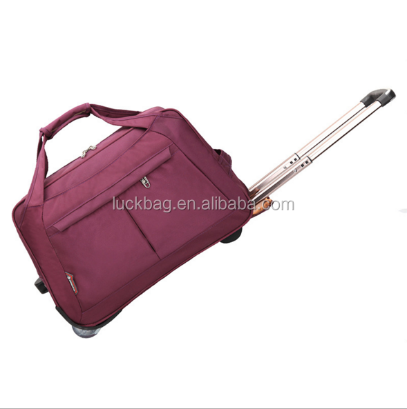 China Manufactured Unisex Durable Travel Luggage Bag Airport Compass Luggage Trolley Bag