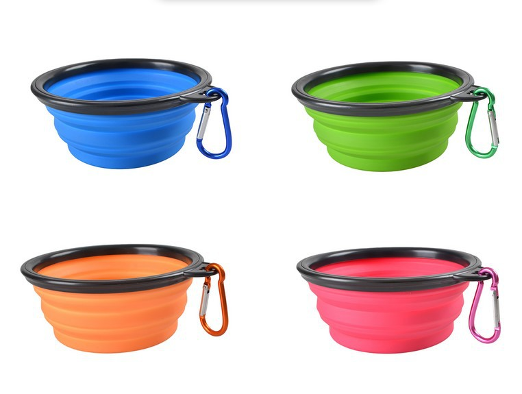 The Best and Cheapest Dog food Round shape plastic dog feeding bowl