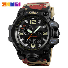 Sport Super Cool Men's Quartz Digital Watch Men Sports Watches SKMEI 1155 Luxury Brand LED Military Waterproof Wristwatches