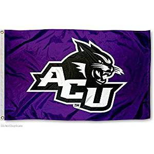 Abilene Christian Wildcats ACU University Large College Flag
