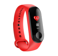 New Waterproof Color Screen Smart Bracelet Sport Smart Wristband With Fitness Heart Rate Blood Monitor Smart Band