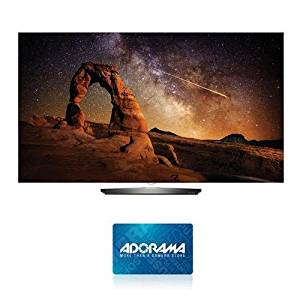 """LG Electronics 55"""" Class 4K UHD Smart OLED TV with webOS 3.0 - With $150 Adorama Gift Card"""