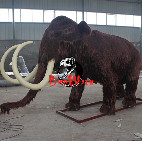 Dw-0105 Realistic Prehistorical Ice Age Animatronic Animal Model Exhibition  Real Size Robotic Wooly Mammoth For Sale - Buy Ice Age Animal