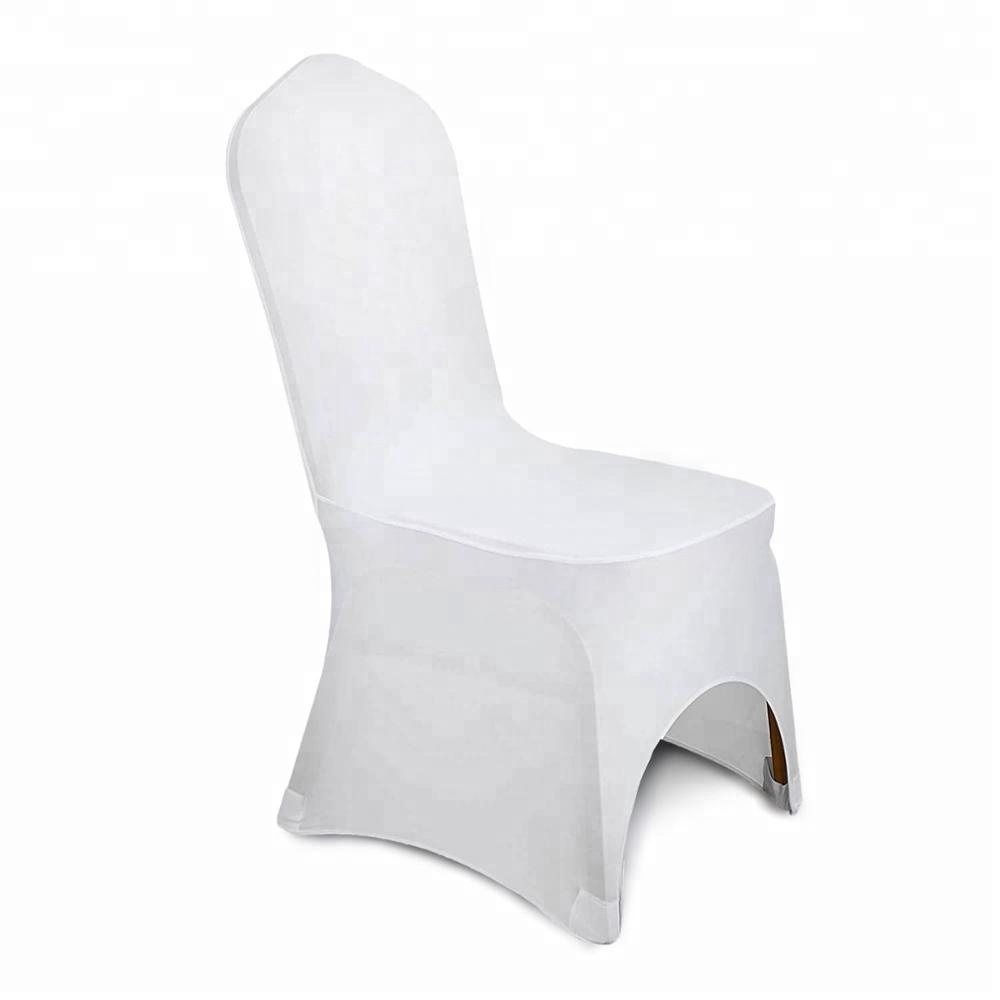 Fabulous 100Pc White Arched Front Covers Spandex Lycra Chair Cover Wedding Party For Sale Buy Chair Cover Wedding Supplies Venue Decorations Product On Alphanode Cool Chair Designs And Ideas Alphanodeonline