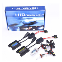 35W 55W 12V Car Xenon HID Kit H1 H3 H4 H7 9004 White Box Xenon HID Ballast Kit