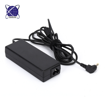 90W Universal Ac Charger With Lcd For Notebook Computer