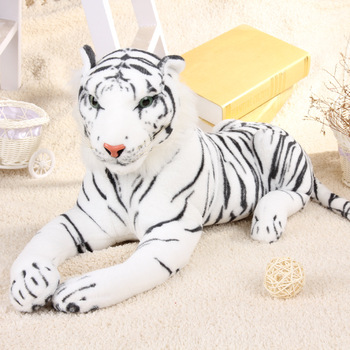 Giant Plush White Tiger Realistic Large Size Stuffed Tiger Toy Buy