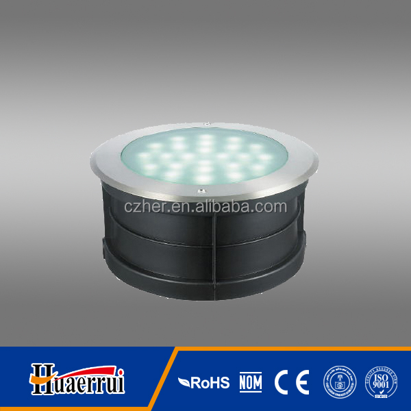 led underground light ip67ip68 with open type heat sink 36w