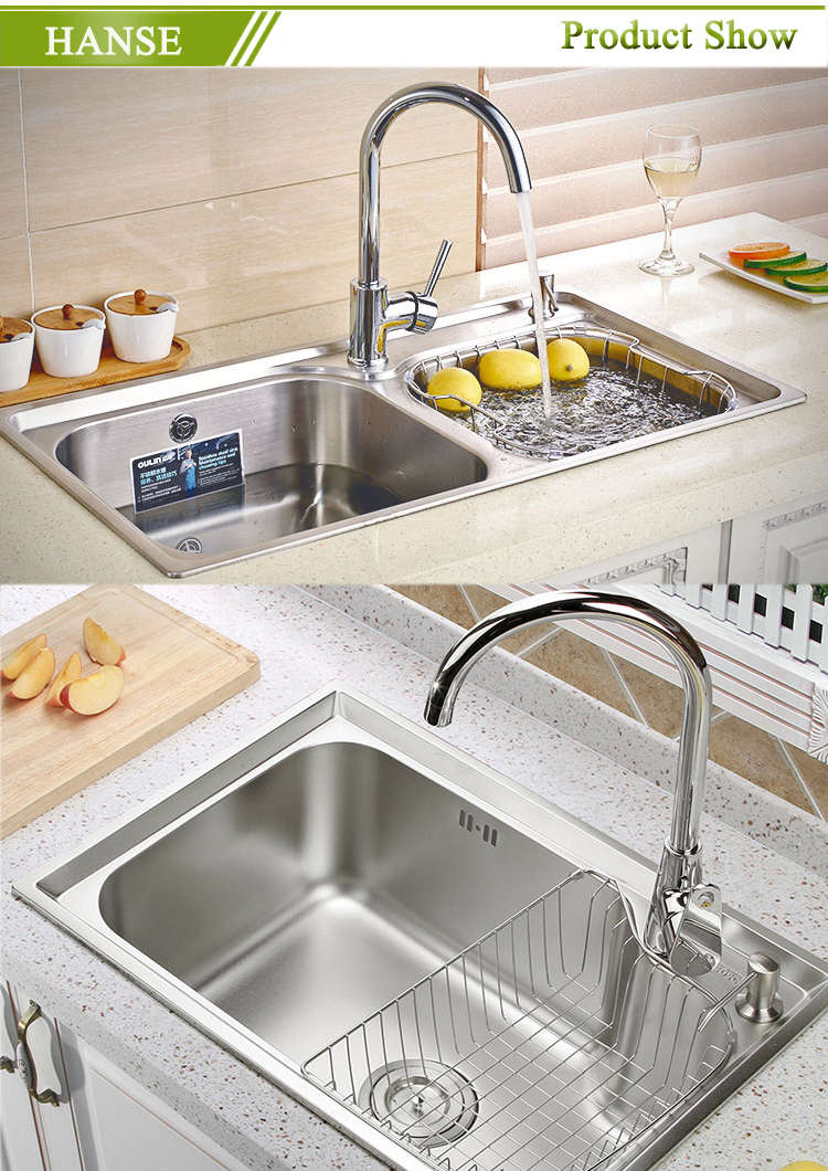 Stainless Steel Double Bowl Round Kitchen Sink,Oval Shaped Kitchen ...