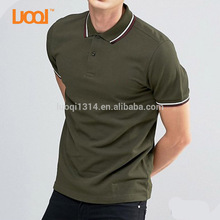High Quality 100% Cotton T Shirt Wholesale Muscle Pique Collar Mens Custom Polo Shirt