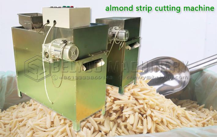 Groundnut pistachio peanut stripping almond strip cutter macadamia nut almonds cutting peanut strip machine