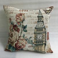 cheap wholesale jacquard deer yarn dyed cushion pillow