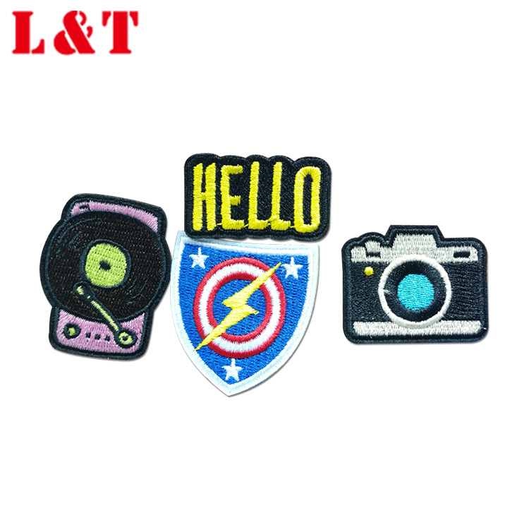 Top Quality Children Unique Clothes Accessories Embroidery Patch