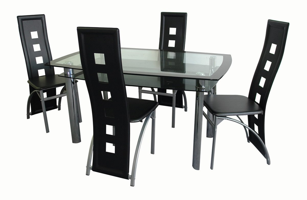 5 unid juego de comedor sets para sala comedor for Juego de comedor lima