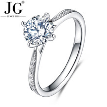 Imitation diamond engagement ring wedding ring, 925 sterling silver ring women with AAA cubic zirconia stone