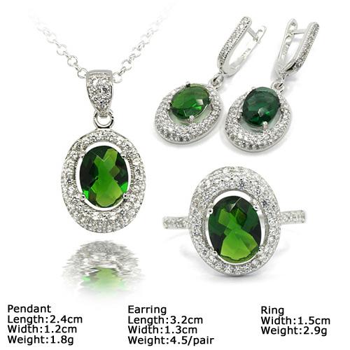 Szj-6245b 925 серебряный комплект ювелирных изделий с камнями камни,  дешевых серебряных ювелирных изделий a85328642cf