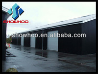 Fast construction steel structure building used shoes warehouse