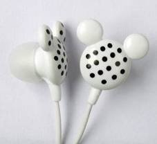 Cute mickey mouse earphones mp3 from Shenzhen factory