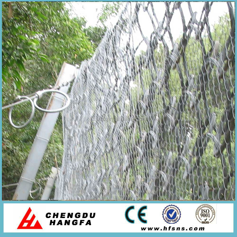 Rockfall Netting Fence With High Tensile Ring Net Design - Buy Slope ...