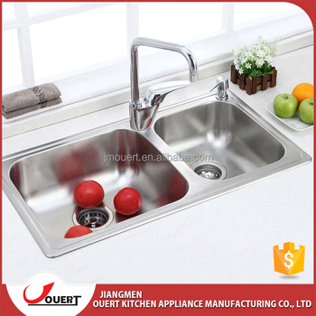 China Industrial Double Bowl Square Deep Stainless Steel Kitchen Sink - Buy  Square Deep Stainless Steel Kitchen Sink,Double Stainless Steel ...