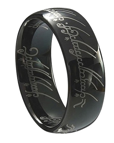 tungsten carbide lord of the ring