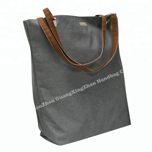 5036dd1294885 Canvas Bags With Leather Handle