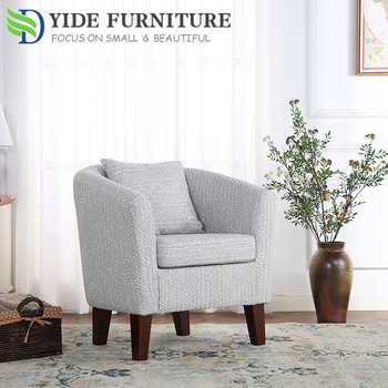 Sofa Furniture Living Room Armchair White Tub Chair Sale For Club