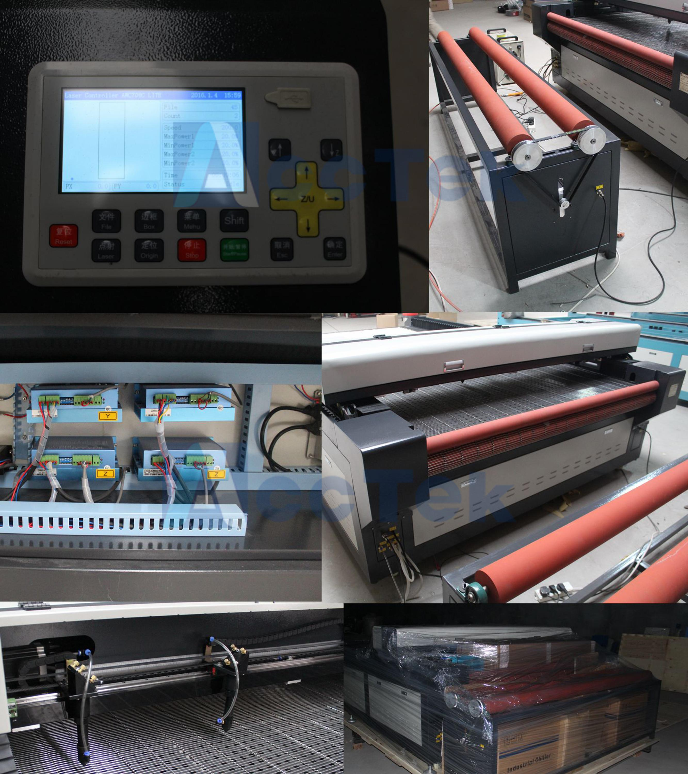 Auto feeding table 1626 cnc fabric cutting machines,cnc laser cutting machine for leather