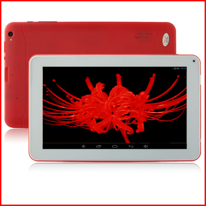 9inch android tablet <strong>pc</strong> All Winner A23 1.5GHz wifi bluetooth 512mb/8gb with Standard USB port