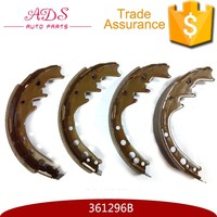 Safety friction coefficient brake shoes assembly for Hiace YH50-51/ YN85 OEM:361296B