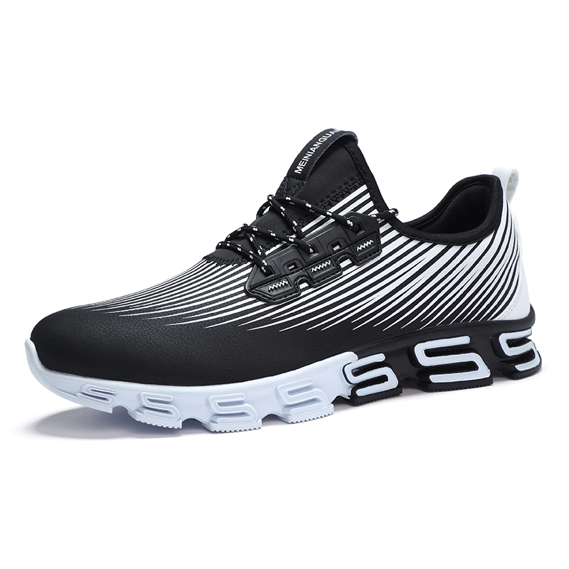 China factory waterproof sneakers men synthetic running leather price qr4wxPqC