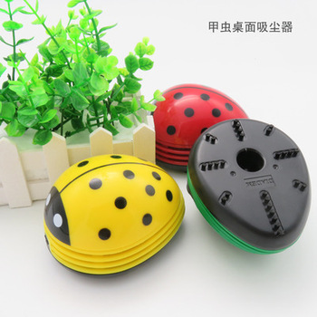 Wholesale Multicolor Carton Cute Mini Table Vacuum Cleaner/desk Dust Cleaner