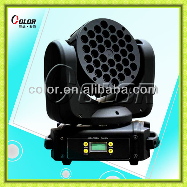 beam moving head light 36*5w rgbw mini professional beam stage projector