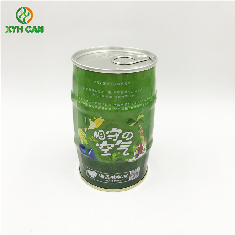 도매 빈티지 Metal Round Wine Tin Box