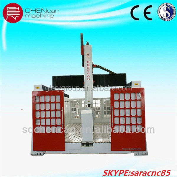 Jinan 3D Wood CNC Router 4Axis EPS Molding Machine CNC Foam Cutting Machine with High Quality