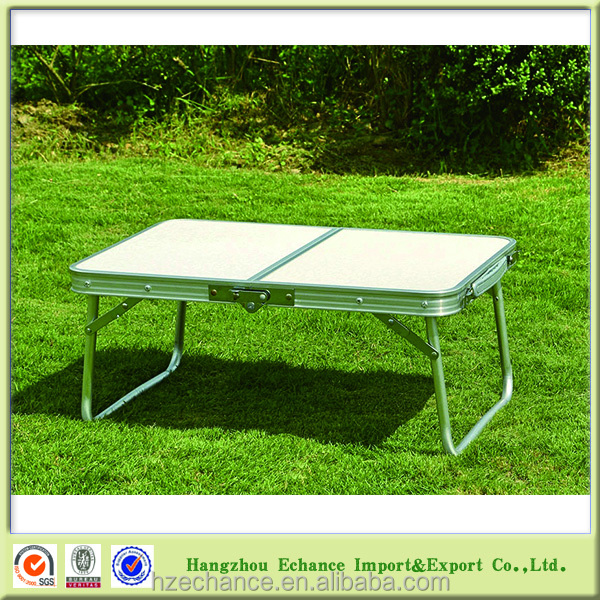 Two pieces portable Outdoor aluminium MINI Folding Picnic Table Spain Market-FN4313