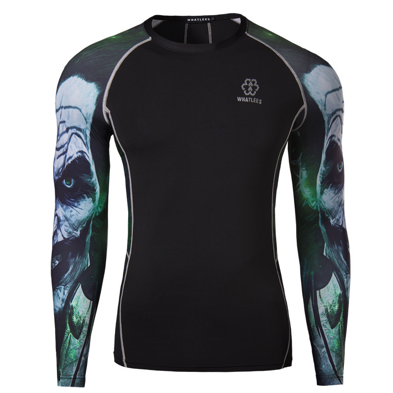 92e69742 Get Quotations · Sports Compression T Shirts Men 2015 Brand New Long Sleeve  Cycling Biker T-shirts Stylish