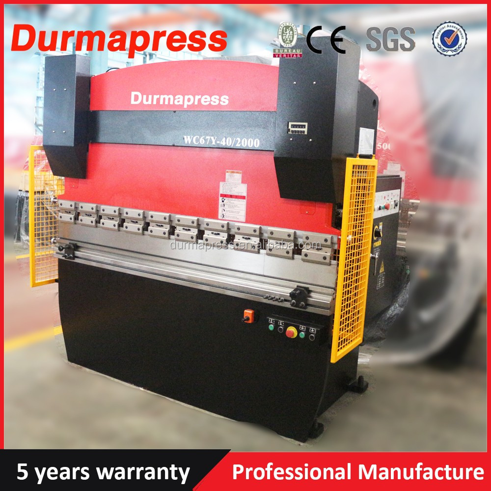 W67Y-40T/2500MM Hydraulic press brake machine tool/cnc pipe bending
