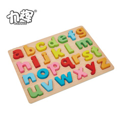 New Product Wooden Dressing Jigsaw Puzzle Beading Wire For Kids