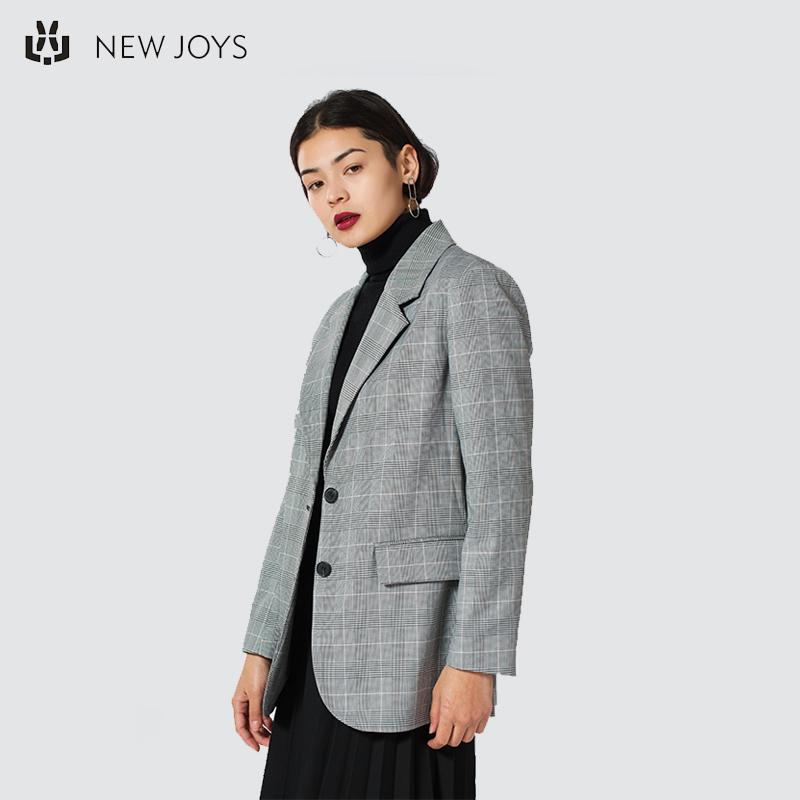 Women S Plaid Casual Blazer Woven Suit Ladies Office Uniform With Blazer Buy Women Suit Blazer Women Plaid Blazer Women Stylish Blazer Product On Alibaba Com