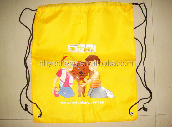 custom recycled waterproof 600 denier polyester tote bag