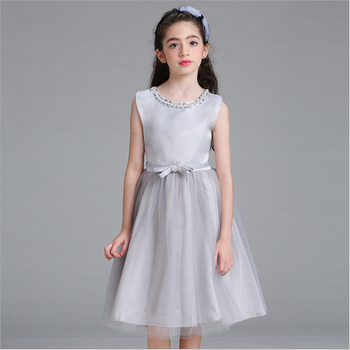 Baby Girl Party Dress Children Frocks Designs Wedding Dress Bridal ...
