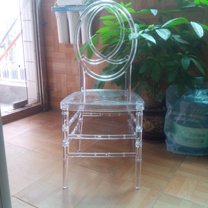 Wholesale Luxury Transparent Acrylic Ghost Upholstery Chair